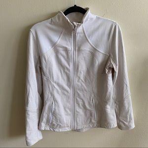 Lululemon Cream Forme Jacket Sz 12